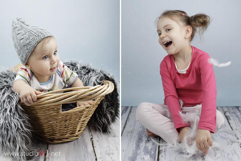 Studio M1; sesja zdjęciowa dzieci Wrocław