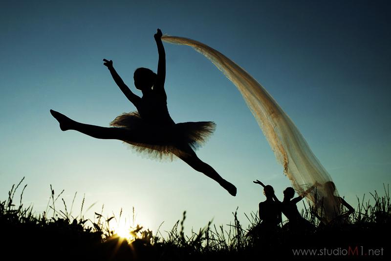 Studio M1; fotografia dzieci, nastolatki, baletnice