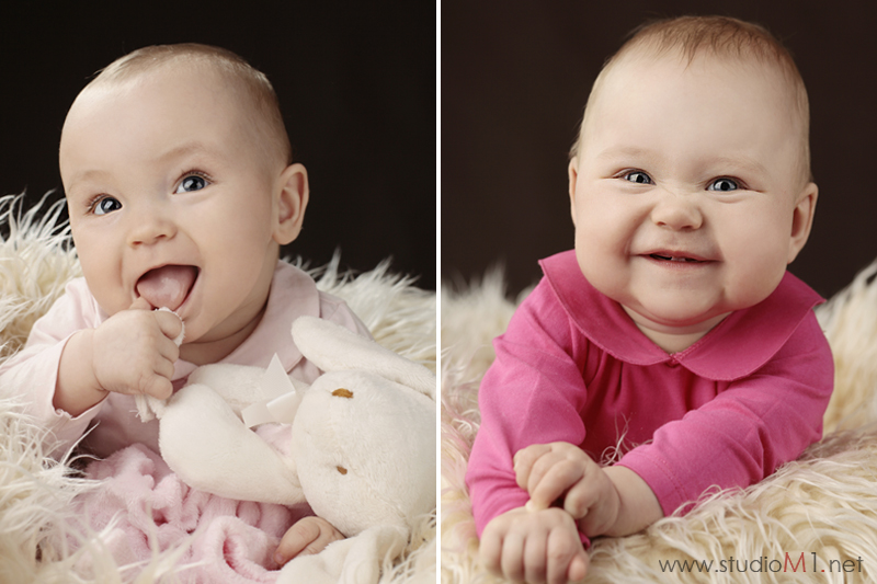 Studio M1; sesja zdjęciowa dzieci bliźniaczek  Kędzierzyn-Koźle