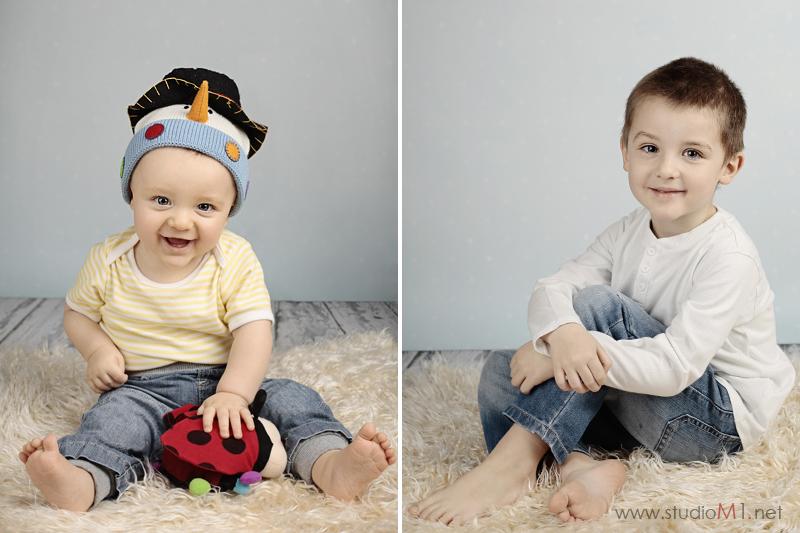 Studio M1; sesja zdjęciowa dzieci Trzebnica
