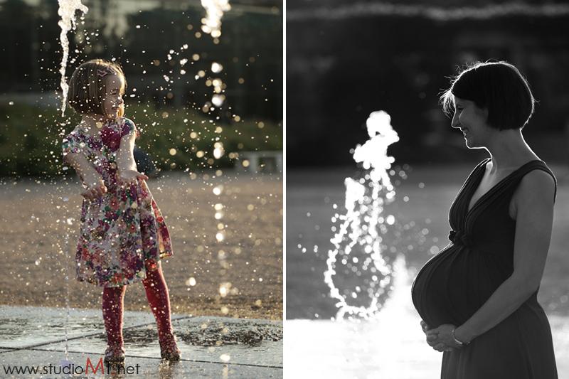 Studio M1; fotografia dziecięca i ciążowa w parku Wrocław