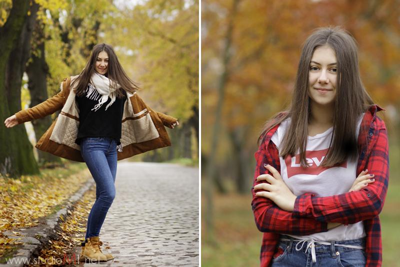 Studio M1 | sesja zdjęciowa nastolatki w plenerze M1 Wrocław
