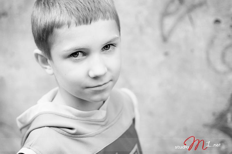 Studio M1: fotografia dziecięca plener miejski