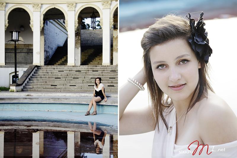 Studio M1; sesja zdjęciowa dla nastolatki Wrocław