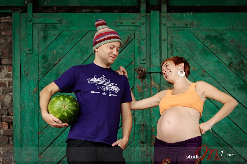 Studio M1: fotografia ciążowa w plenerze