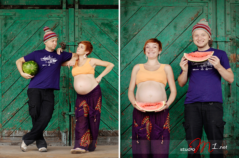 Studio M1: fotografia ciążowa plener