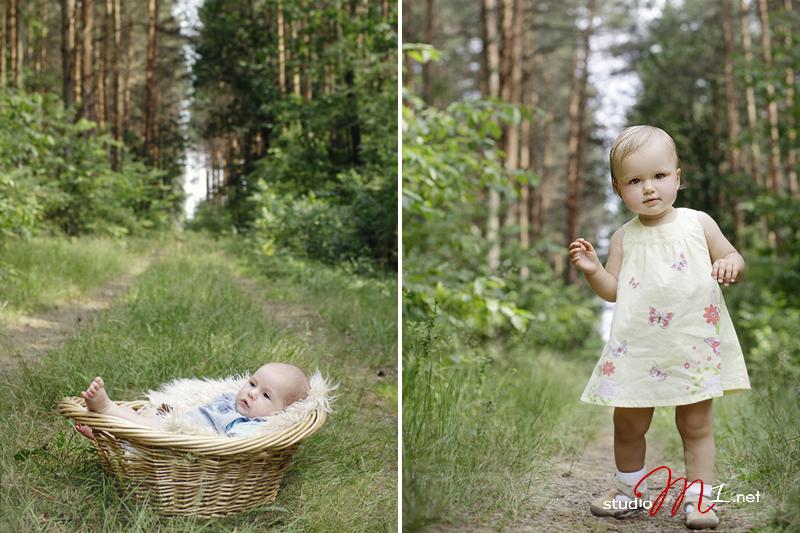Studio M1; fotografia dziecięca w plenerze Opole