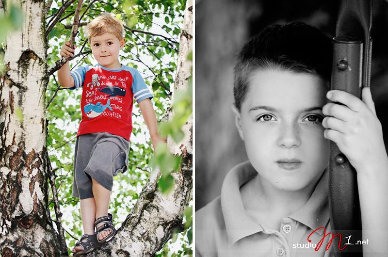 Studio M1; zdjęcia plenerowe dzieci