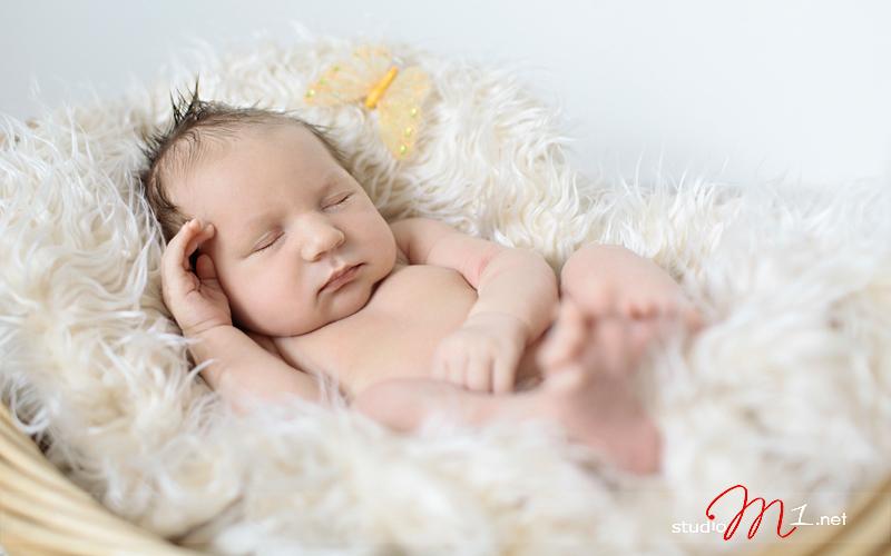 Studio M1; fotografia noworodkowa