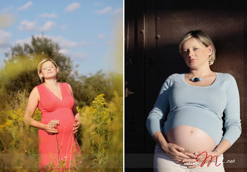 Studio M1; fotografia ciążowa w plenerze