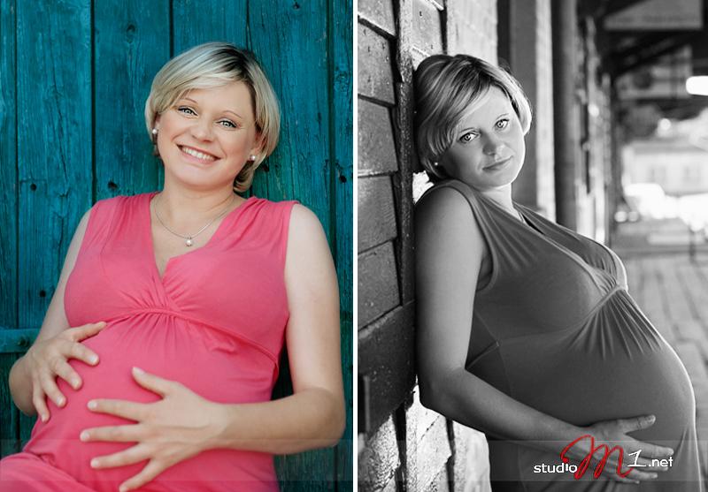 Studio M1; zdjęcia w ciąży plener